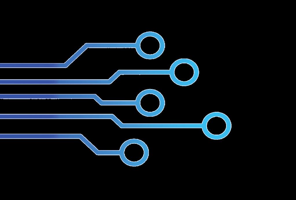 Image réseau bleu